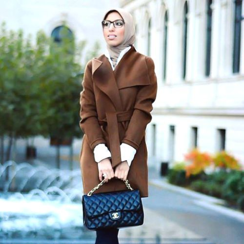 tan-trench-coat-hijab-chic- Hijab casual wear 2017 http://www.justtrendygirls.com/hijab-casual-wear-2017/: