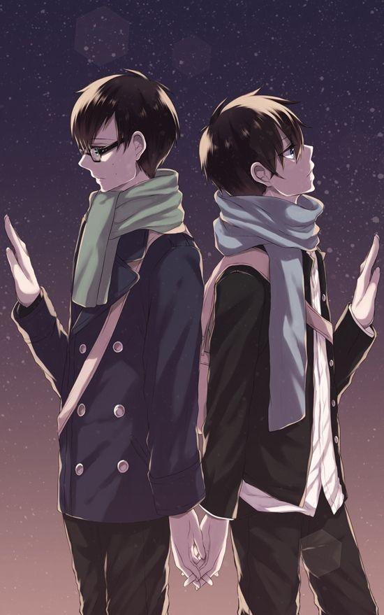 Tags: Anime, Ao no Exorcist, Okumura Rin, Okumura Yukio, Pixiv Id 1166597: