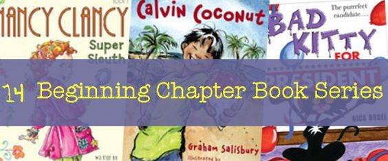 14 Easy Chapter Books in a Series - perfect if you're out of books!