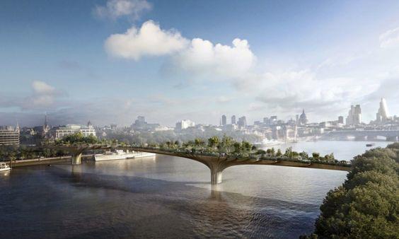 London's proposed Garden Bridge receiving negative press from it's critics: http://bit.ly/1AHPwLh
