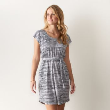 Women's SONOMA Goods for Life Print Fit & Flare Dress