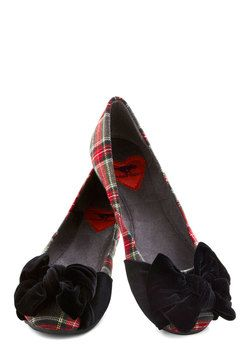 Yule Be There Flat, #ModCloth 49.99 size 10