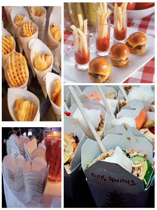 Food Stations | Theme Thursday