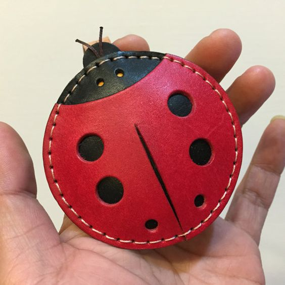 Ready Stock  Big size  Penny the ladybug by leatherprince on Etsy