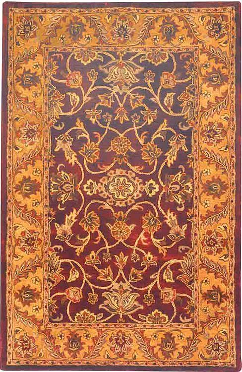Golden Jaipur Burgundy Gold Area Rug Oval Area Rug Area Rugs Rugs