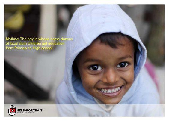 Help Portraits - what Pakistan really looks like.