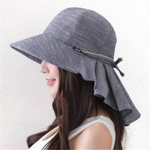 Summer Sun Protection Hat With Neck Cover For Women Riding Sun Hats Sunhatsshorthair Ladies Golf Snood Hat Patterns To Sew Sun Hats For Women Hats For Women