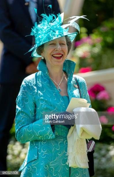 Princess Anne Princess Royal attends Royal Ascot Day 3 at Ascot Racecourse on June 21 2018 in Ascot United Kingdom