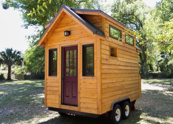 Tinier Living House Plans by Tiny Home Builders Tiny House Plans