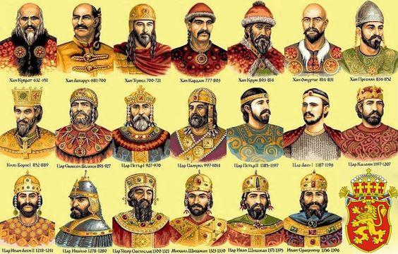 Царете на България
