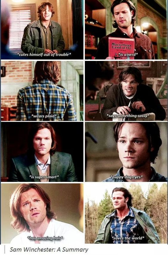 #Supernatural #SamWinchester (it's posts like this that remind you that they really are just people...)