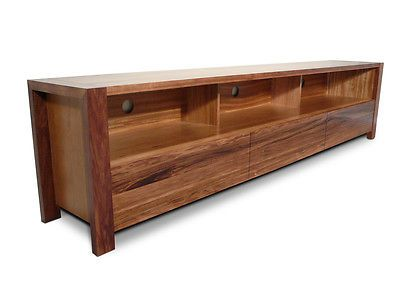 Lumino Tasmanian Blackwood Lowline TV Unit low line, lcd, led Timber Wooden