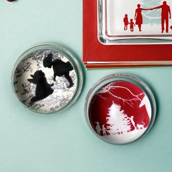 Silhouette Paperweights