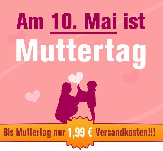 Muttertag am 10. Mai und nur 1,99 € Versandkosten +++ http://www.hals-ueber-krusekopf.de/xist4c/web/muttertag-10-mai-2015-geschenke-webshop_id_14219_.htm