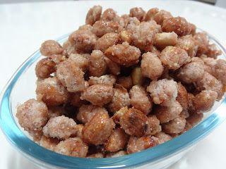 Cucina di Juliana: Receita de Amendoim Doce - Praliné