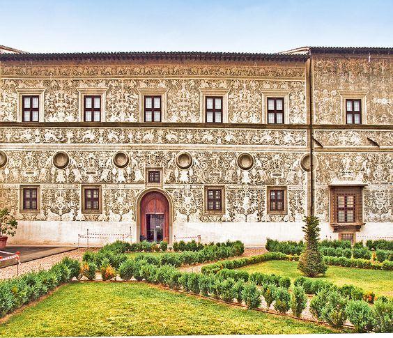 The 16th century Palazzo Vitelli alla Cannoniera in Citta di Castello, Italy by Anguskirk