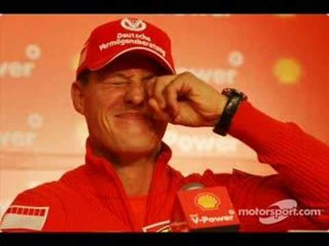 A (funny) tribute to Michael Schumacher