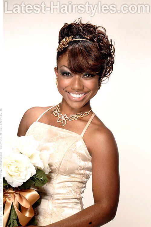 Tremendous Updo Wedding And Classic On Pinterest Short Hairstyles For Black Women Fulllsitofus