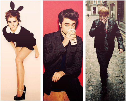 Emma Watson, Daniel Ra... Daniel Radcliffe Friends