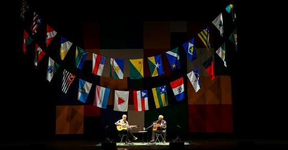 Caetano Veloso e Gilberto Gil - Dois Amigos, Um Século de Música, 2015- Citibank Hall, São Paulo, Brasil