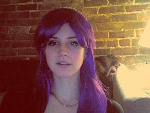 "lizzy grant's Instagram profile post: ""Buy my purple wig For my mermaid  video        song: Me… in 2020   Lana del rey, Lana del rey art, Lana  del"