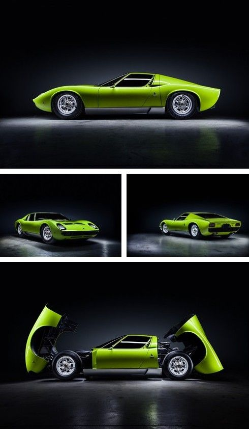 1968 Lamborghini Miura S | Does it get much better? Classic lines a first draft pick for the dream garage