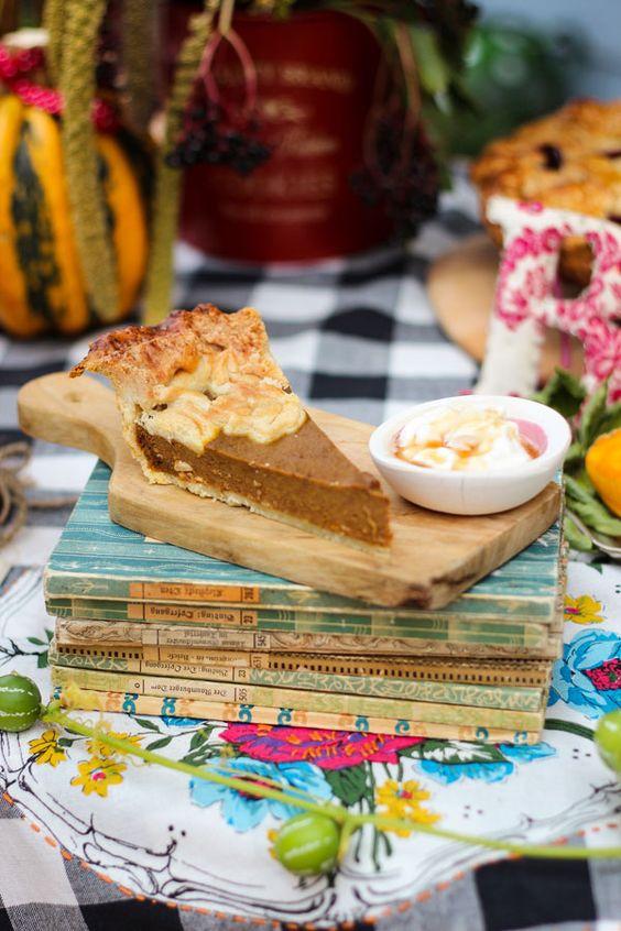 Rezept: Pumpkin Pie - Amerikanischer Kürbiskuchen-amicella