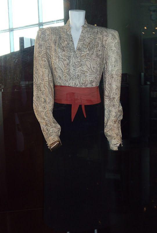 Ingrid Bergman Casablanca costume.