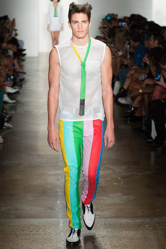 Male Fashion Trends: Jeremy Scott Spring/Summer 2014 - New York Fashion Week #MBFW #NYFW