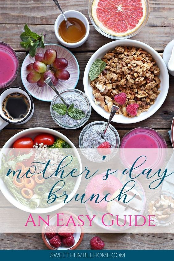 Planning A Mother's Day Brunch | Sweet Humble Home