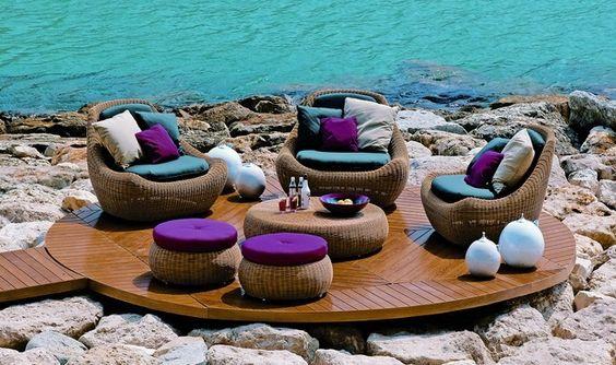 Muebles para terraza: Decor, Home Decoration, Decor Ideas, Decoration Tips, Outdoor Decoration, Design Ideas, Decoration, Furniture Design