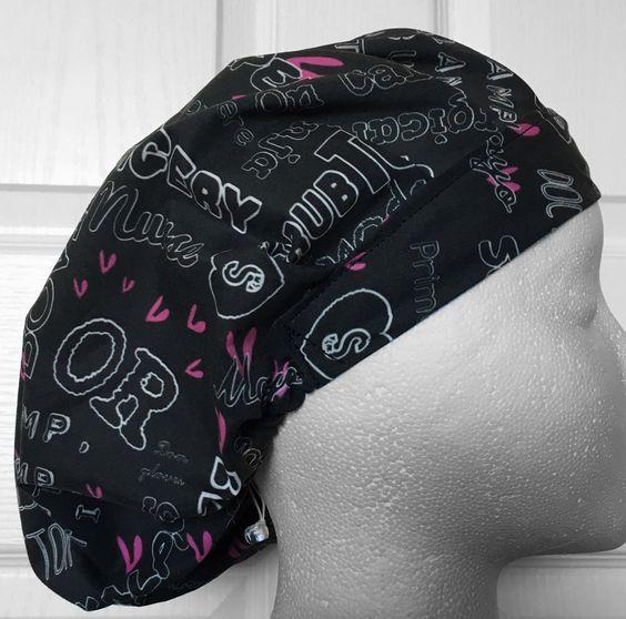 Surgery Adjustable Bouffant Scrub Hat