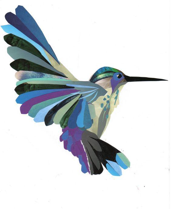 Image gallery hummingbird art - Manualidades con cd viejos ...