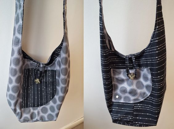 OVERmyTALES: tutorial borsa tracolla stoffa