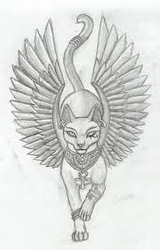 Bastet - symbolises protection in Egypt. Reminds me of Cleo!