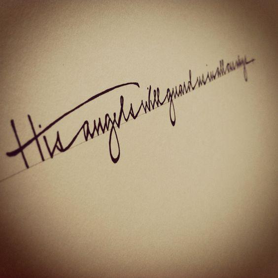 Tattooed in uganda tattoo simple beautiful fonts and angel