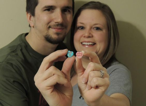Cute Valentine's Day Pregnancy Announcement!!! | Little ...