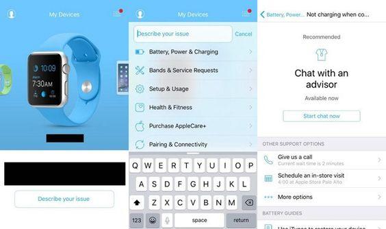 Apple poderá lançar aplicação de suporte para os utilizadores