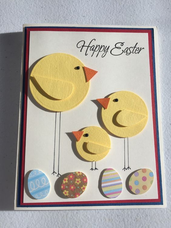 Hallmark Signature Easter Card For Kids Stickers And Coloring Activity Easter Cards Handmade Diy Easter Cards Easter Cards