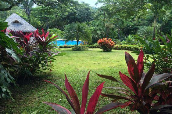 Tropical gardens at Hotel Leyenda, Carrillo - Costa Rica:
