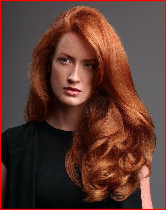 Long Haircut For Red Hair