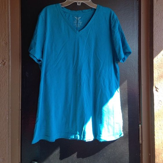 Blue t shirt Comfy shirt Faded Glory Tops Tees - Short Sleeve