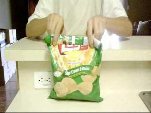 Como Cerrar Una Bolsa De Papas Fritas Youtube Bolsas De Patatas Papas Fritas Patatas Fritas