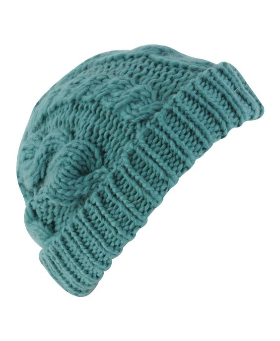 cable knit beanie $5.50