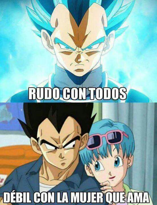 Dragon Ball Super Memes Xd Vegeta Y Bulma Goku Y Bulma Imagenes De Vegeta
