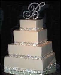 Resultado de imagen para elegant wedding cakes with crystals