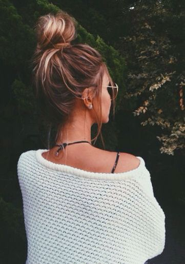 The perfect bun to go to the beach