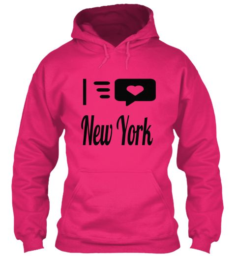 I New York Heliconia T-Shirt Front