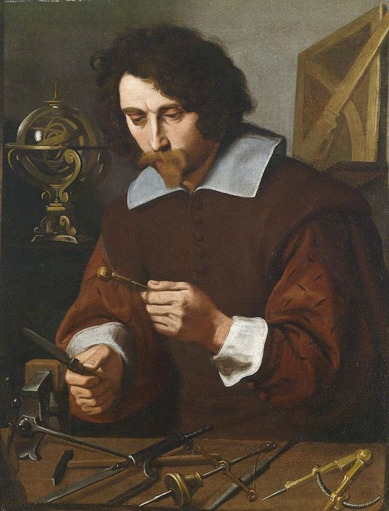 Pietro Paolini Ein Erfinder von mathematischen Instrumenten um1640.jpg: