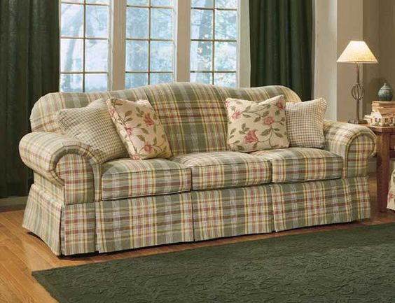 Country Plaid Sofas Anyone Have Plaid Couches Edited With A Picture Of The Roo Living